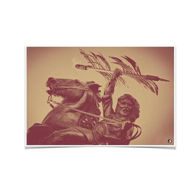 Florida State Seminoles - Unconquered - College Wall Art #Poster