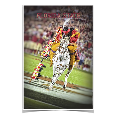 Florida State Seminoles - Florida State Osceola Spear - College Wall Art #Poster