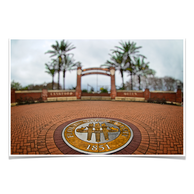 Florida State Seminoles - FSU 1851 - College Wall Art #Poster