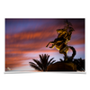 Florida State Seminoles - Osceola Last Light -College Wall Art #Poster