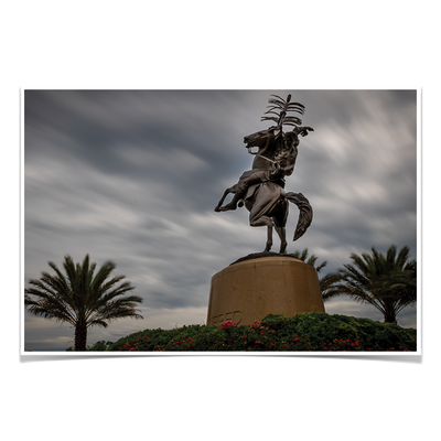 Florida State Seminoles - Unconquered Stormy Skies - College Wall Art #Poster