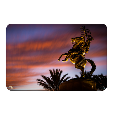Florida State Seminoles - Osceola Last Light -College Wall Art #PVC
