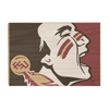 Florida State Seminoles - Osceola Brand - College Wall Art #Wood