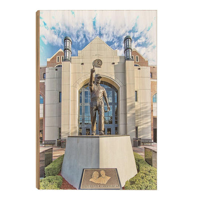 Florida State Seminoles - Akers Plaza - College Wall Art #Wood