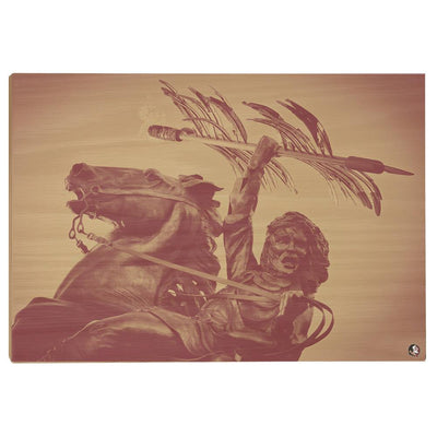 Florida State Seminoles - Unconquered - College Wall Art #Wood