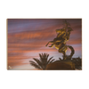 Florida State Seminoles - Osceola Last Light -College Wall Art #Wood