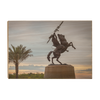 Florida State Seminoles - Unconquered Sunset Skies - College Wall Art #Wood
