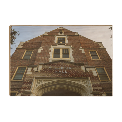 Florida State Seminoles - Gilchrist Hall - College Wall Art #Wood