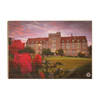 Florida State Seminoles - Red Sunrise Over Landis - College Wall Art #Wood