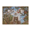 Florida State Seminoles - Red Bloom Framed Torches - College Wall Art #Wood