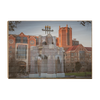 Florida State Seminoles - Tallahassee Winter - College Wall Art #Wood