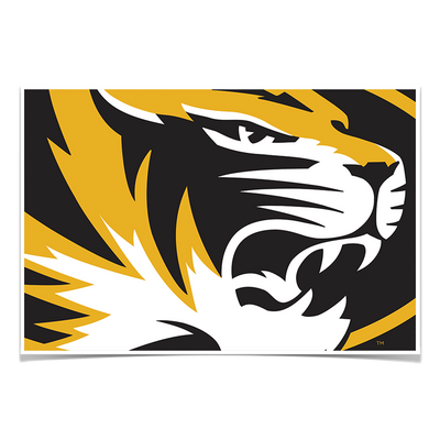 Missouri Tigers - Mizzou Tiger - College Wall Art #Poster