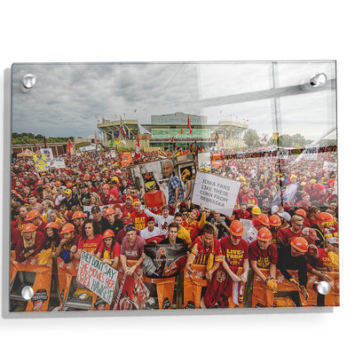 Iowa State Cyclones - Football Game Day - College Wall Art #Acrylic