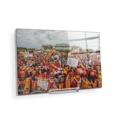 Iowa State Cyclones - Football Game Day - College Wall Art #Acrylic Mini
