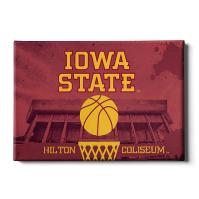 Iowa State Cyclones - Hilton Coliseum Iowa State Basketball - College Wall Art #Canvas