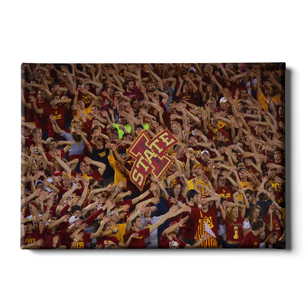 Iowa State Cyclones - Iowa State Passion - College Wall Art #Canvas
