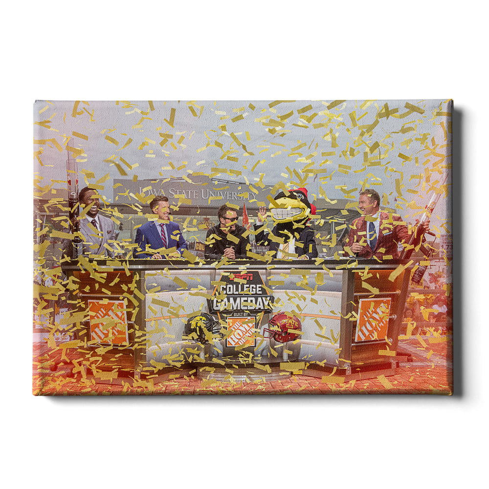 Iowa State Cyclones - Game Day Iowa State - College Wall Art #Canvas