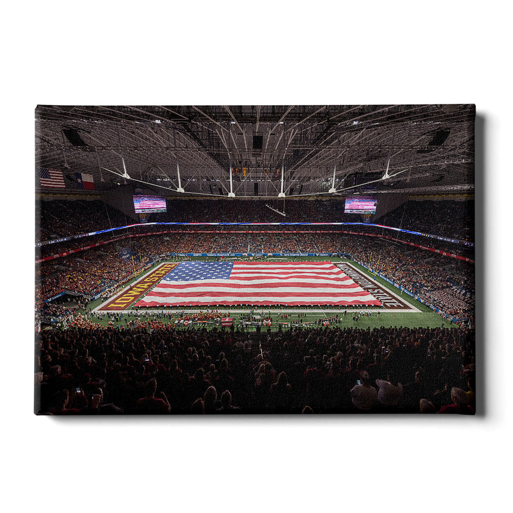 Iowa State Cyclones - Our National Flag - College Wall Art #Canvas