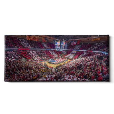 iowa-state-cyclones-hilton-stars-and-stripes - College Wall Art #Canvas