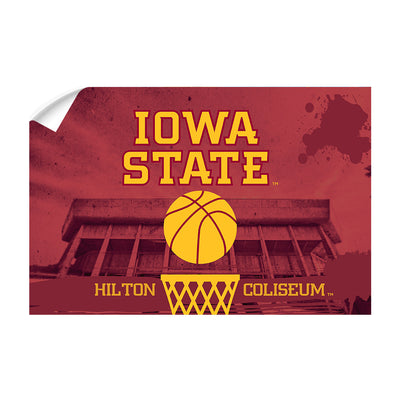 Iowa State Cyclones - Hilton Coliseum Iowa State Basketball - College Wall Art #Wall Decal