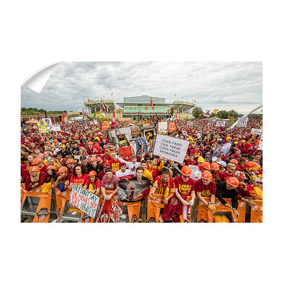 Iowa State Cyclones - Football Game Day - College Wall Art #Wall Decal