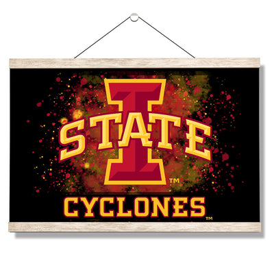 Iowa State Cyclones - Iowa State Cyclones - College Wall Art #Hanging Canvas