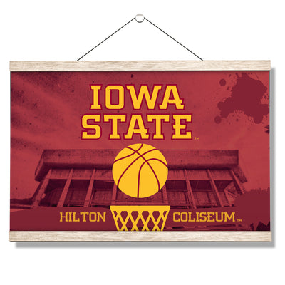 Iowa State Cyclones - Hilton Coliseum Iowa State Basketball - College Wall Art #Hanging Canvas