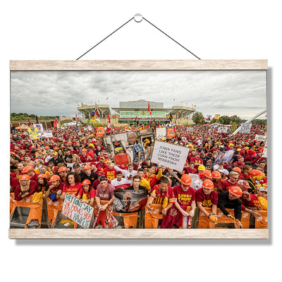 Iowa State Cyclones - Football Game Day - College Wall Art #Hanging Canvas
