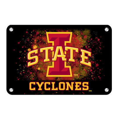 Iowa State Cyclones - Iowa State Cyclones - College Wall Art #Metal