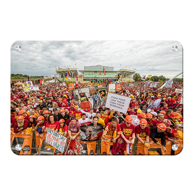 Iowa State Cyclones - Football Game Day - College Wall Art #Metal