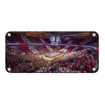 iowa-state-cyclones-hilton-stars-and-stripes - College Wall Art #Metal