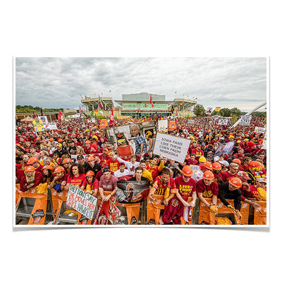 Iowa State Cyclones - Football Game Day - College Wall Art #Poster