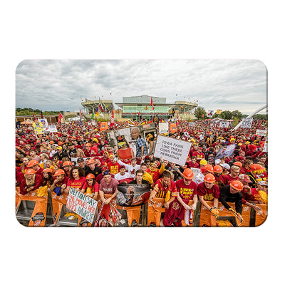 Iowa State Cyclones - Football Game Day - College Wall Art #PVC