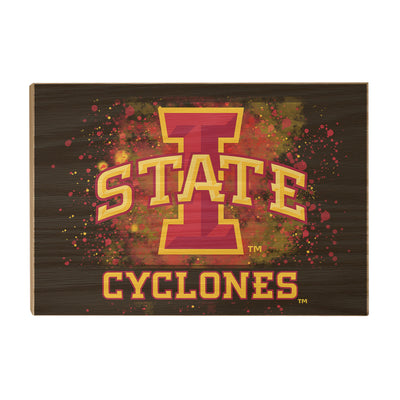 Iowa State Cyclones - Iowa State Cyclones - College Wall Art #Wood