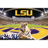 LSU TIGERS - Mike the Tiger VII's Kingdom - College Wall Art #Dimensional