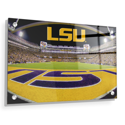 LSU Tigers - Death Valley - College Wall Art #Acrylic