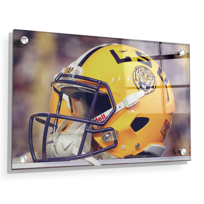 LSU Tigers - Tiger Helmet - College Wall Art #Acrylic