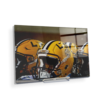 LSU Tigers - LSU Helmets - College Wall Art #Desktop Mini