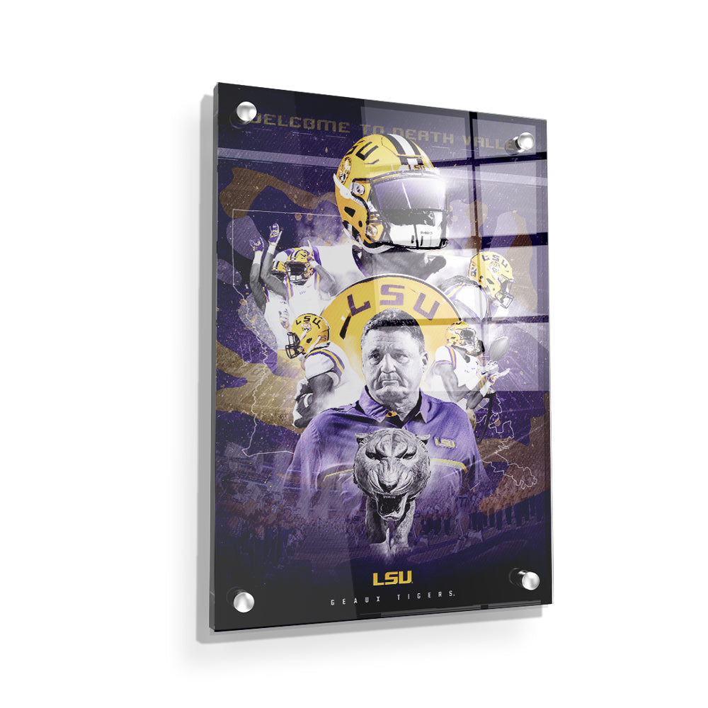 LSU Tigers - This is LSU - College Wall Art #Canvas
