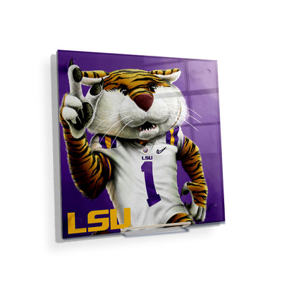 LSU Tigers - LSU Mike #Acrylic Mini