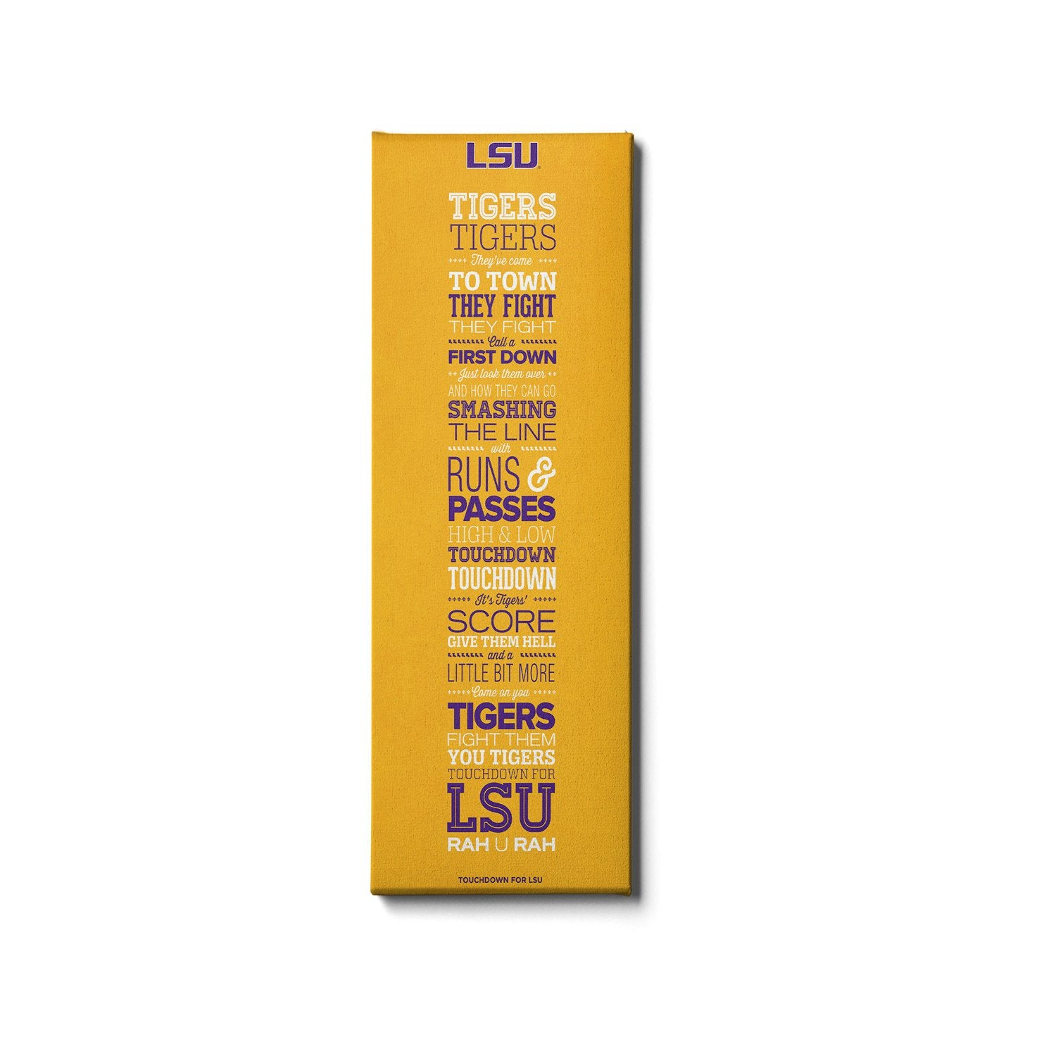 LSU Tigers - Touchdown for LSU #Canvas