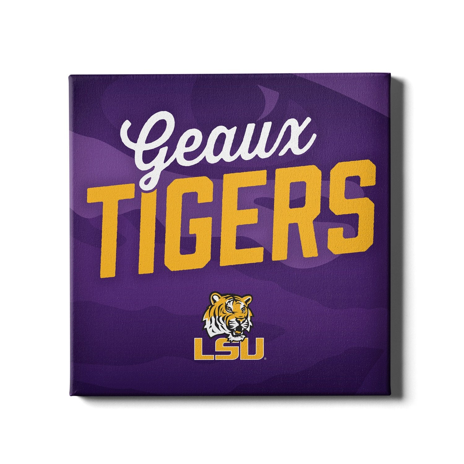 LSU Tigers - Geaux Tigers - College Wall Art #Canvas
