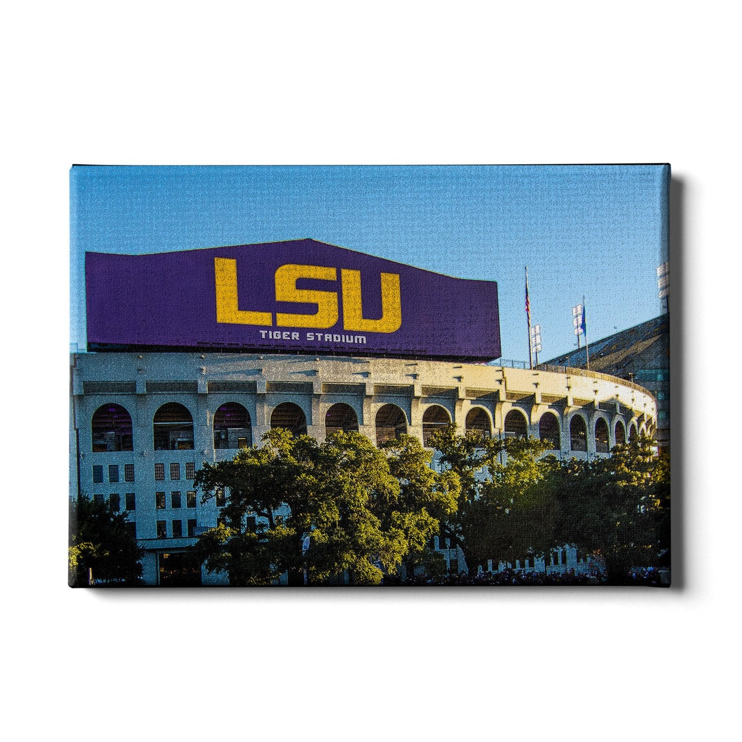 LSU Tigers - LSU Tiger Stadium #Canvas