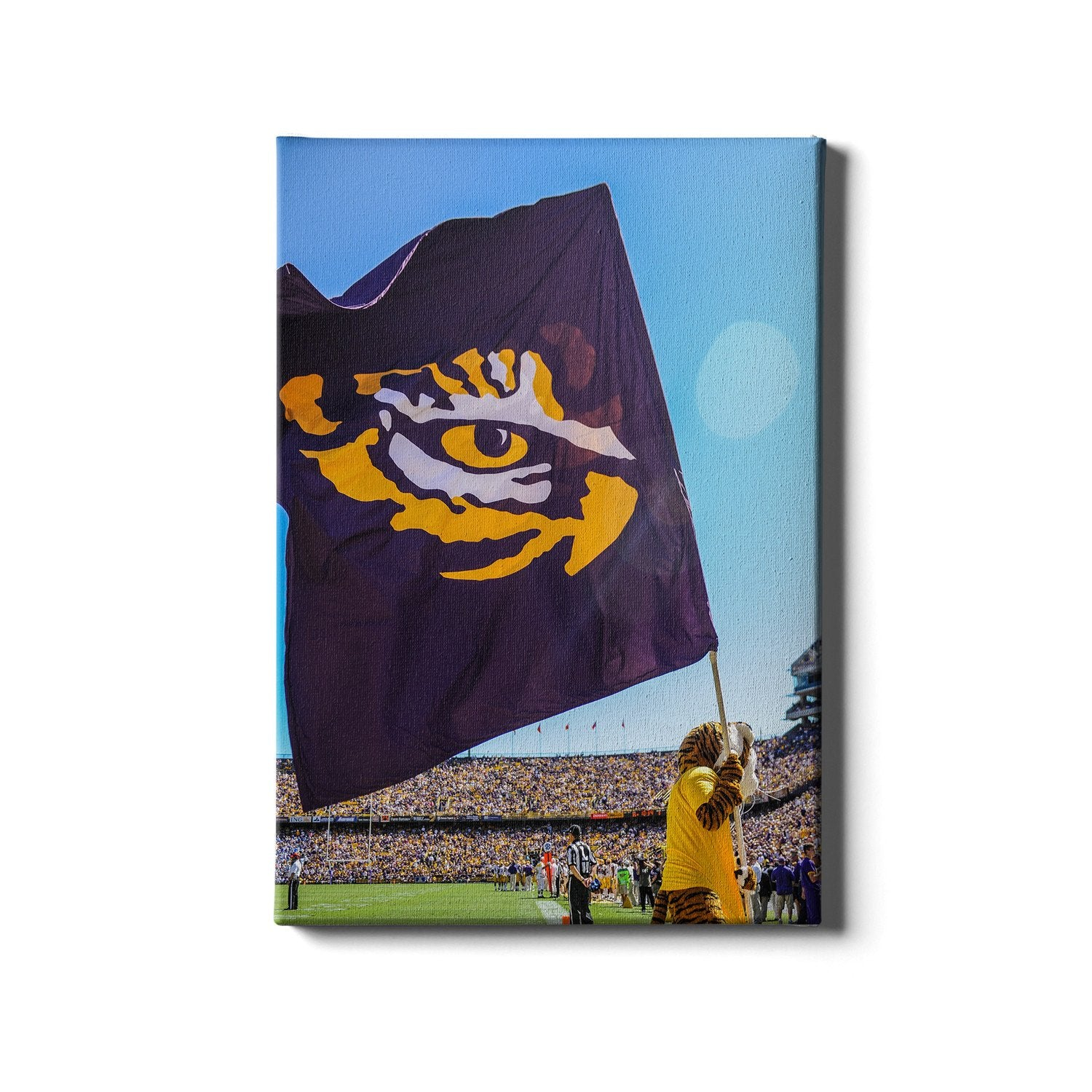 LSU Tigers - Tiger Flag #Canvas