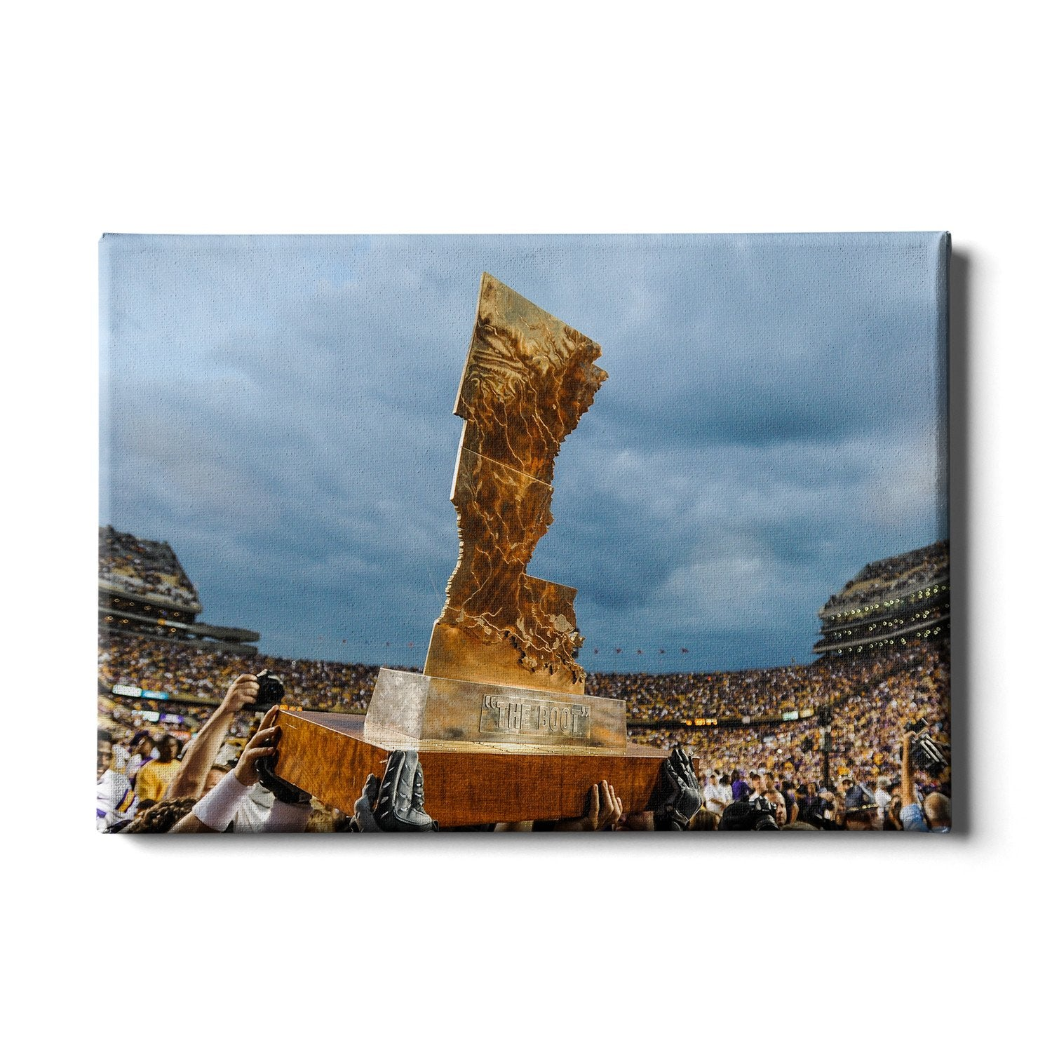 LSU Tigers - The Boot #Canvas