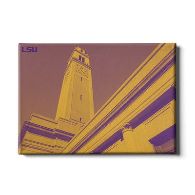 LSU Tigers - LSU Tower - College Wall Art #Canvas