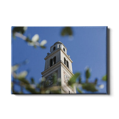 LSU Tigers - Tower Thru the Trees #Canvas