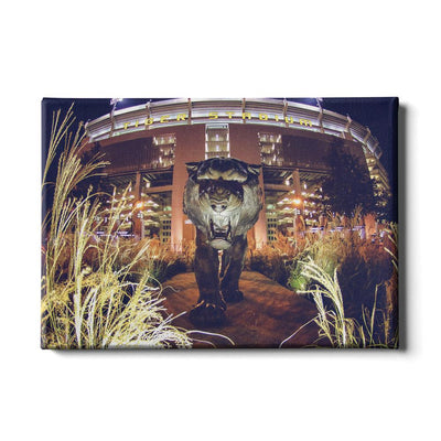 LSU Tigers - Tiger Night - College Wall Art #Canvas