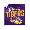 LSU Tigers - Geaux Tigers - College Wall Art #Wall Decal