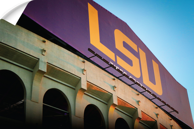 LSU Tigers - Tiger Stadium - College Wall Art #Wall Decal